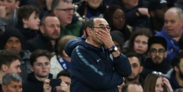 Maurizio Sarri coach of Chelsea
