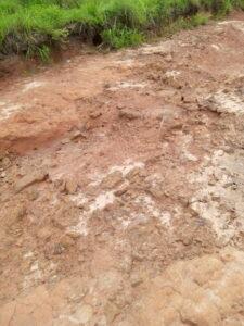 Feeder roads leading to Onupi main village