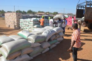 IDPs relief material