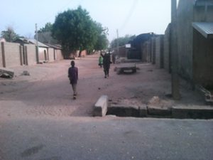 A+street+in+the+recaptured+Gwoza+town+by+Nigerian+Army