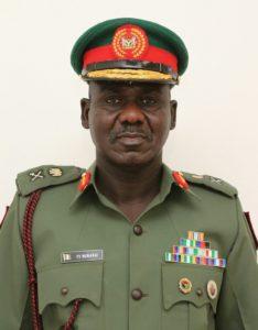 COAS Major General Tukur Buratai