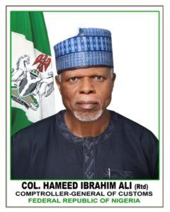 customs boss Hameed Ali