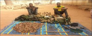 Soldiers arrested with unauthorised military items