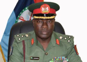 Brigadier General Rabe Abubakar, DHQ Spokesperson
