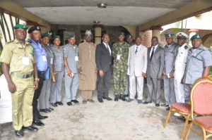 Gen Chris Olukolade(Rtd) in black suit Centre with other guests and Participants at CCC Seminar in Port-Harcourt