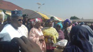 Aisha Buhari in Maiduguri