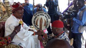Prof Abdallah, VC NOUN on his chieftancy title