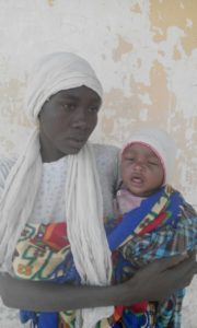 Chibok Girl with baby 2017