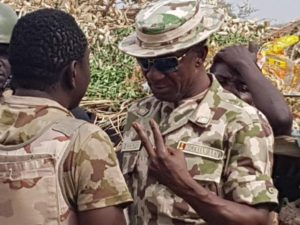 GOC 7 Div Brigadier General Victor Ezugwu