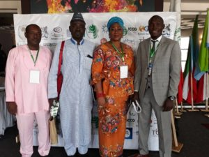 Nigerian delegates at African Public Relations Association (APRA) Conference in Gaborone Botswana