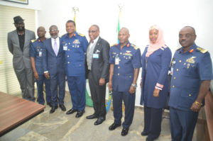 APRA Delegation with Chief of Air Staff in NAF
