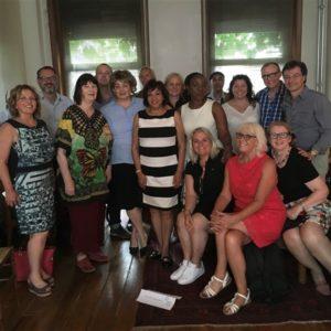 IPRA GWA Jury 2018 after selecting the Winners in Belgium