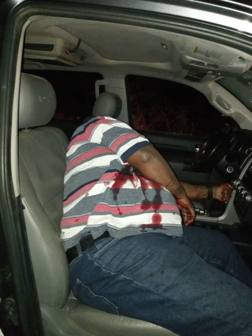 Air Chief Marshal Badeh killed. This photo is obtained by PRNigeria from a different source