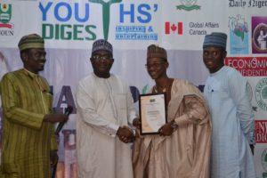 CJA Award Winner Abdulhamid Aliyu BUK Kano (Entertainment)
