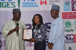 CJA Award Winner Adekola Mercy AAUA Ondo (Broadcaster)
