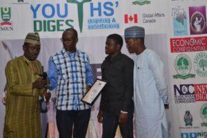 CJA Award Winner Ibrahim Adeyemi UDUS Sokoto (Editor)