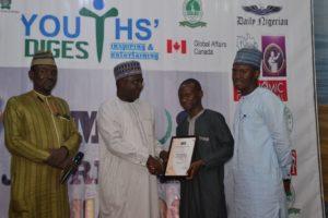 CJA Award Winner Mahmud Abdulsalam FLAILAS Minna