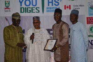 CJA Award Winner Olufemi Alfred OAU Ife (Investigative Journalism)