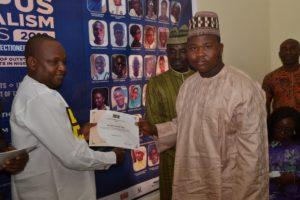 CJA Finalist Ibrahim Ghaddafi Tanko