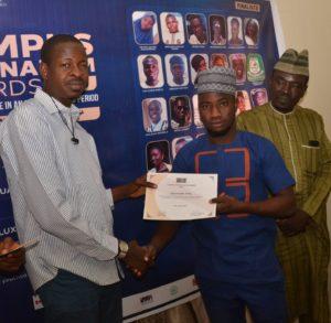 CJA Finalist Ojoroungbe Sodiq