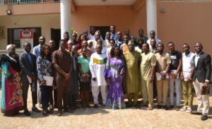 CJA Finalists with the Panel of Judges after Interactive Seminar at PRNigeria Office