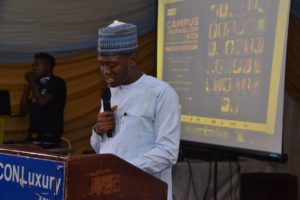 Editor Youths Digest, Gidado Y Shuaib Welcomes Guests to CJA