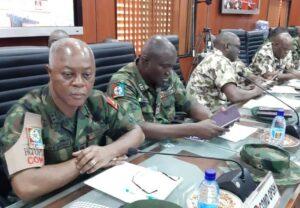 Army Principal Officers at COAS meeting