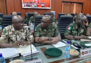 Army General Officers Commanding