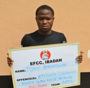 EFCC Convict TIJANI BABATUNDE
