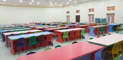 Borno Primary School with locally produced furniture