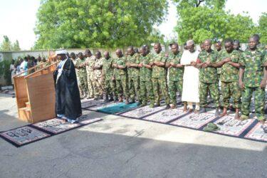 Troops during Sallah Celebration inin Zamfara
