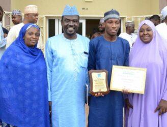 Guests at PRNigeria Award for First Class Mass Comm Graduate in BUK