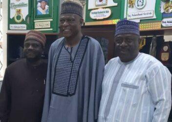 Mallam Nagode, Prof Na'Allah and Dr. Yusuf Lawal