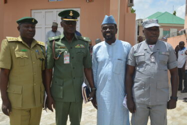 Representatives of Security Services at the PRNigeria Centre Kano