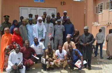 Participants at the PRNigeria Centre
