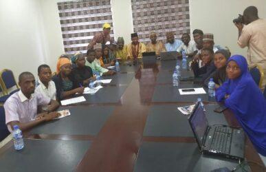 Guests at PRNigeria Centre Kano