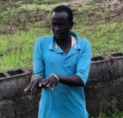 Saadu Abubakari Bitcoin Suspect at a scene of crime- PRNigeria