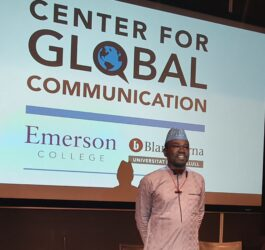 Yushau A. Shuaib speaks on PR Tools for Advocating SDGs at Blanquerna-Emerson Global Summit in Barcelona