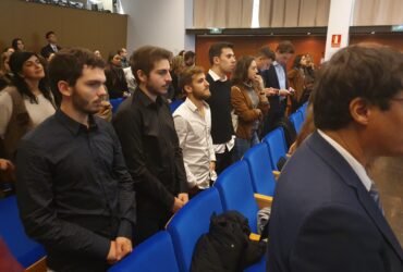 Participants at the Emerson-Blanquerna Global Summit in Barcelona Spain