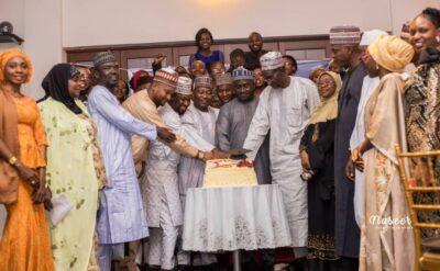 BUK MPR Graduates and Guests cut Cake