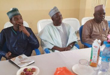 Guests at the Book Launch on the High Table