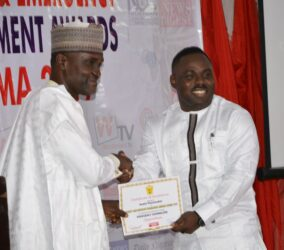 Austin Peacemaker of SEcurity Affairs receive SAEMA Certificate of Excellence in Abuja