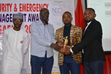 The Police Twin Brothers Hassan and Hussaini Gimba receive SAEMA Golden Awards for their war against Kidnapping and Banditry in the North