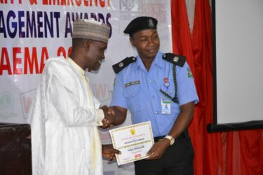 Anambra Police PRO Haruna Mohammed receives SAEMA Certificate of Excellence