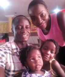 Sgt Rowland Tafida and Family