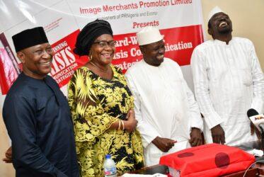 Guests at presentation at AWard-Winning Crisis Communication Strategies in Abuja