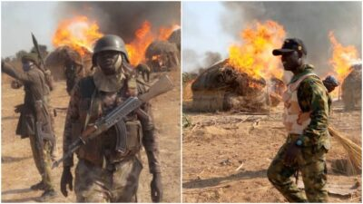 Nigerian Troops in Timbuktu Triangle Sambisa