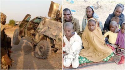 Nigerian troops rescue victims at Timbuktu Triangle