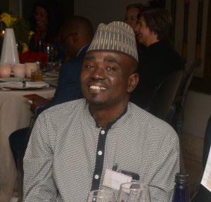 Yushau A. Shuaib at African Excellence Award in South-Africa